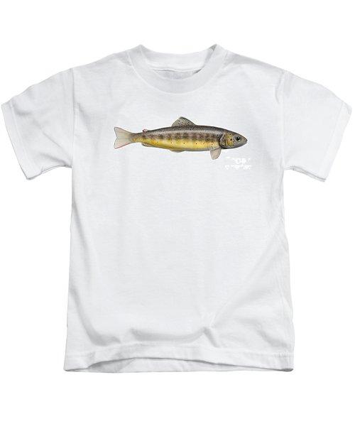 Brown Trout - Autochthonous - Indigenous - Salmo Trutta Morpha Fario - Salmo Trutta Fario Kids T-Shirt