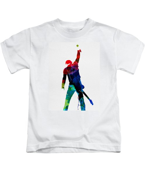 Bruce Watercolor Kids T-Shirt