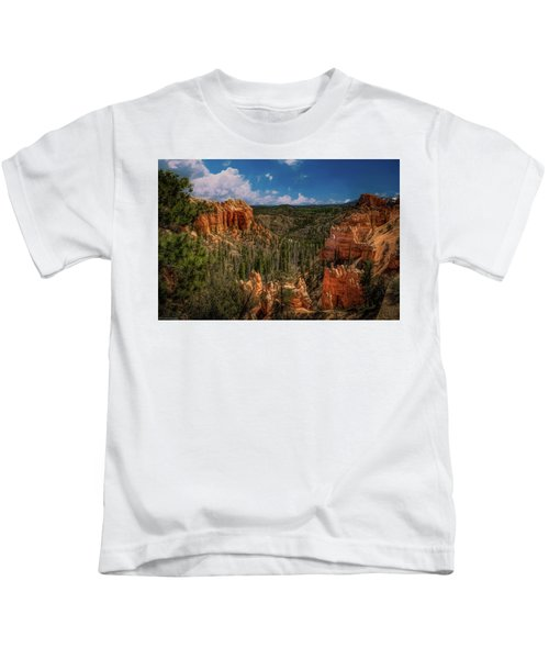 Bryce Canyon From The Top Kids T-Shirt