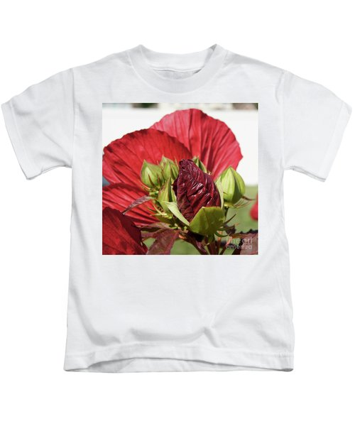 Budding Beauty Kids T-Shirt