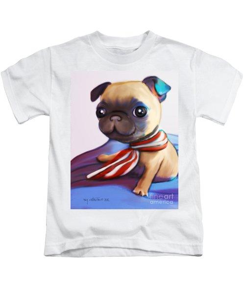 Buddy The Pug Kids T-Shirt