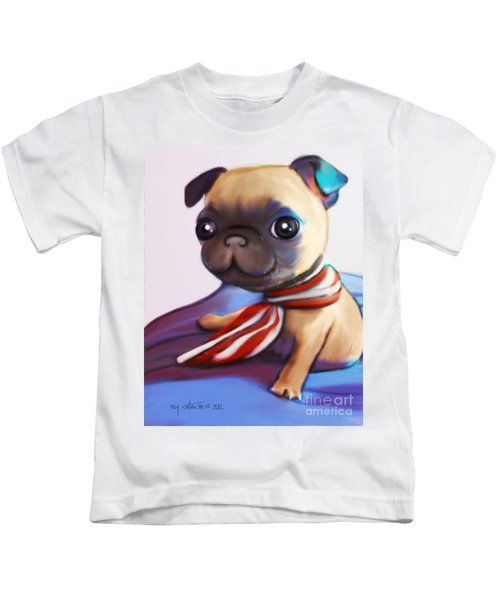Buddy The Pug Kids T-Shirt