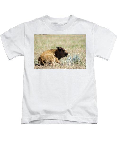 Buffalo Calf Kids T-Shirt