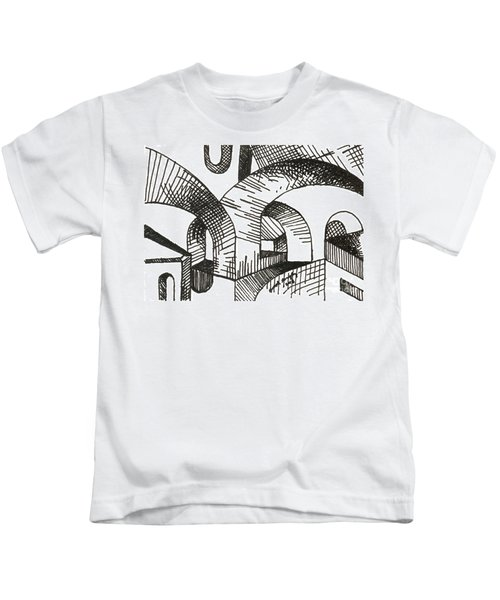 Buildings 1 2015 - Aceo Kids T-Shirt