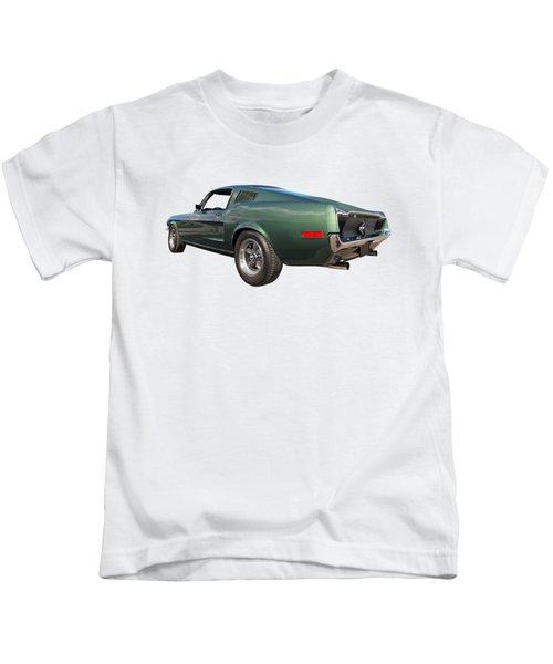 Bullitt - 1968 Mustang Fastback Kids T-Shirt
