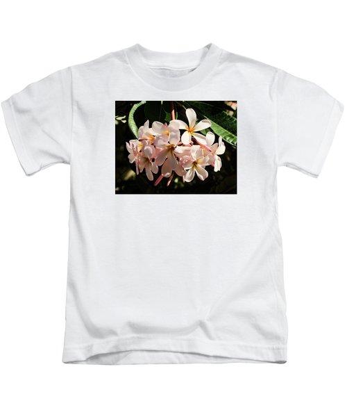 Bunch Of Plumeria Kids T-Shirt