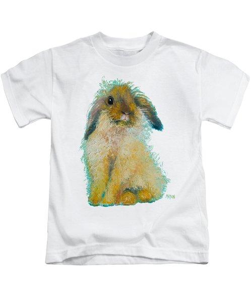 Bunny Rabbit Painting Kids T-Shirt