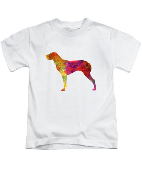 Burgos Pointer In Watercolor Kids T-Shirt