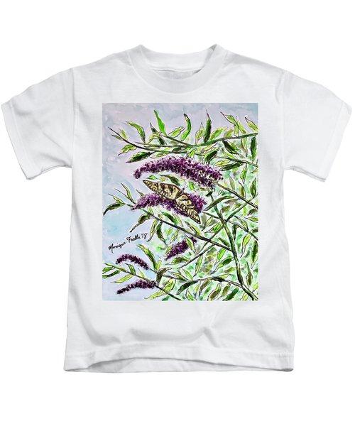 Butterfly Bush Kids T-Shirt