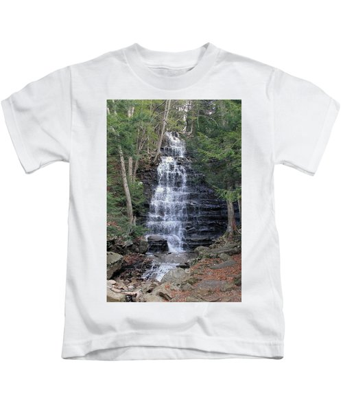 Buttermilk Falls Kids T-Shirt