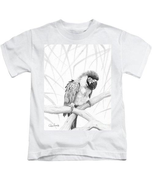 Bw Parrot Kids T-Shirt