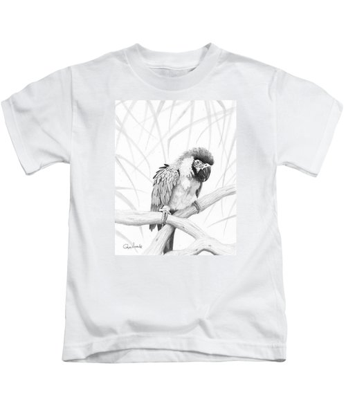Bw Parrot Kids T-Shirt