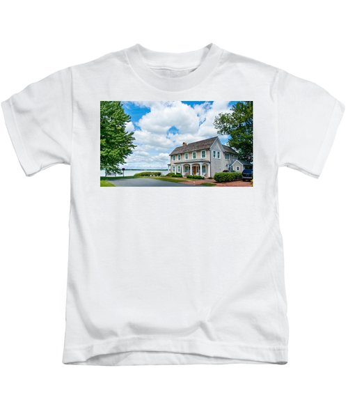 By The Water In Oxford Md Kids T-Shirt