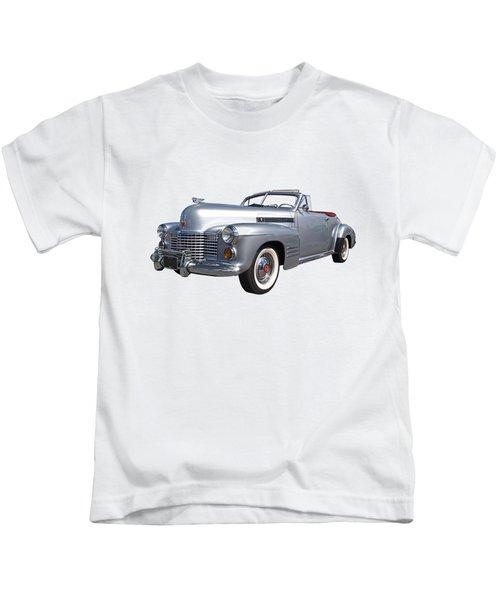 Bygone Era - 1941 Cadillac Convertible Kids T-Shirt