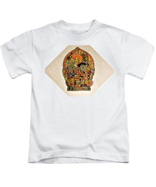 C3po Star Wars Afrofuturist Collection Kids T-Shirt