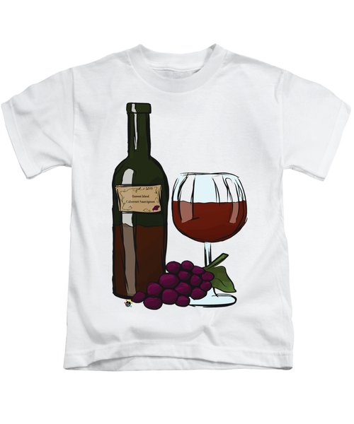 Cabernet Sauvignon Kids T-Shirt