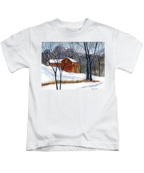 Cabin In The Woods Kids T-Shirt