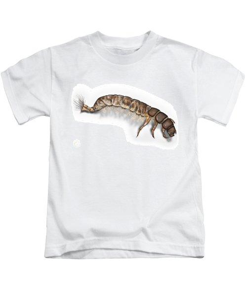 Caddisfly Larva Nymph Psychomiidae Hydropsyche Pellucidula -  Kids T-Shirt