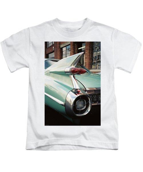 Cadillac Fins Kids T-Shirt