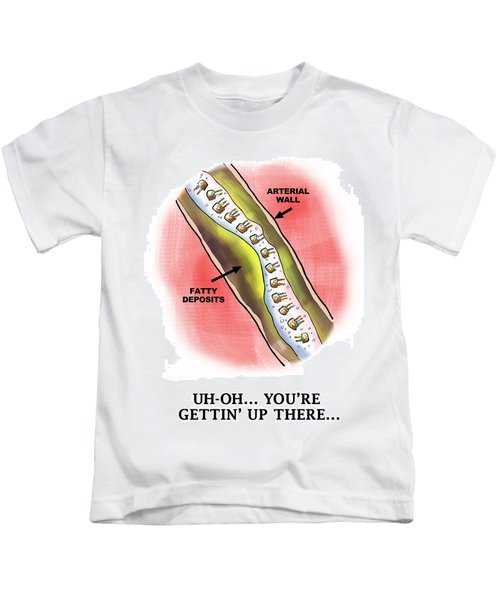 Cake Stream Plaque Kids T-Shirt