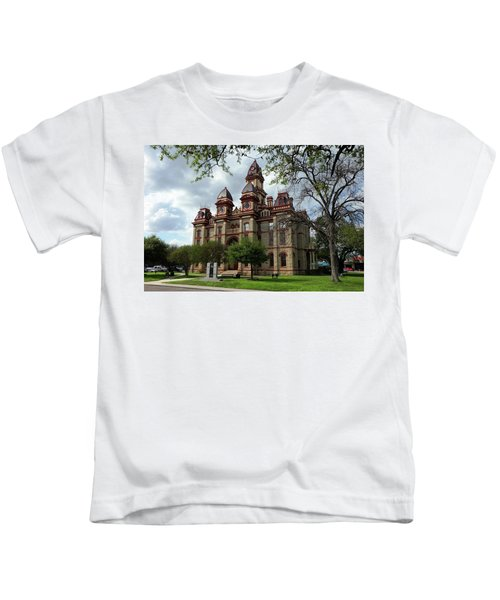 Caldwell County Courthouse Kids T-Shirt