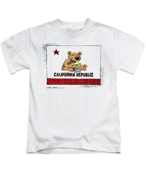 California Budget Begging Kids T-Shirt
