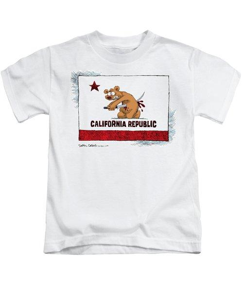 California Budget Harakiri Kids T-Shirt