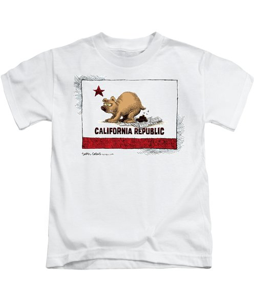 California Budget Iou Kids T-Shirt