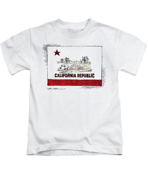 California Drought Kids T-Shirt