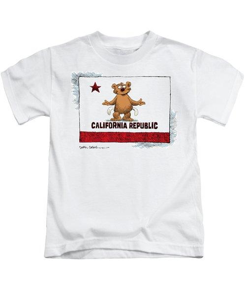 California Empty Pockets Kids T-Shirt