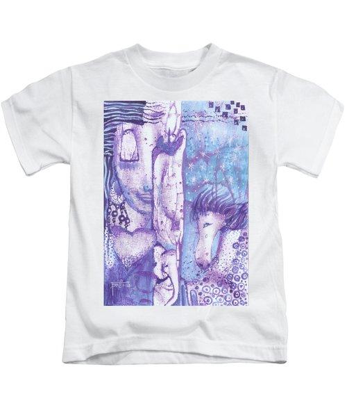 Calling Upon Spirit Animals Kids T-Shirt