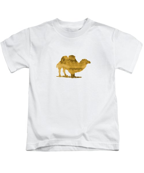 Camel Kids T-Shirt by Mordax Furittus