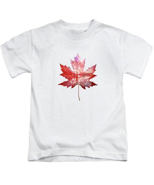 Canada Maple Leaf Kids T-Shirt