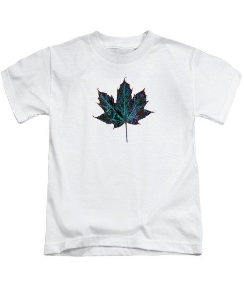 Canadian Diversity Maple Leaf Kids T-Shirt