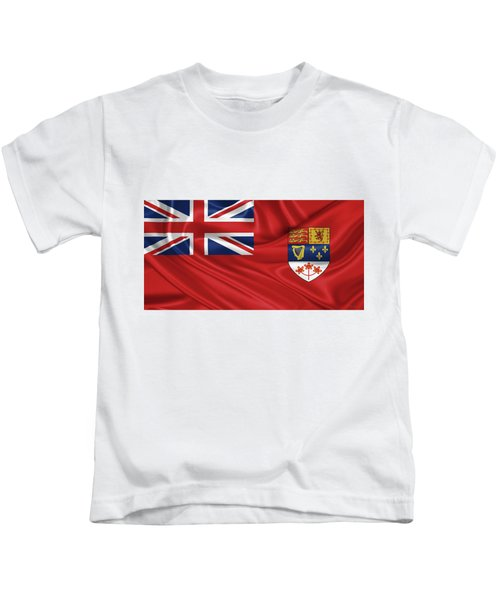 Canadian Red Ensign 1957-1965 Kids T-Shirt
