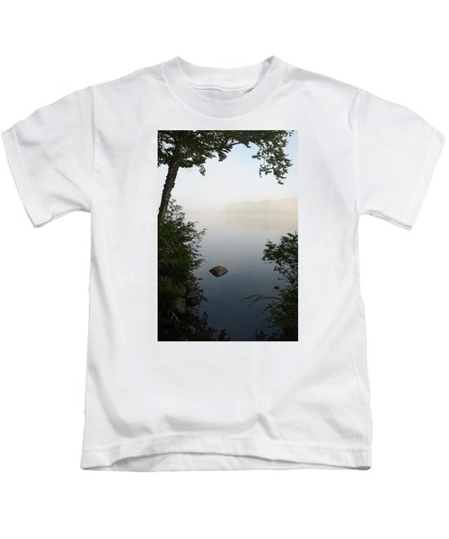 Canning Lake Mist Kids T-Shirt