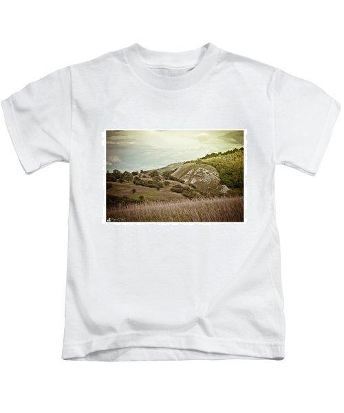 #canon #clouds #sky #kyffhaeuser Kids T-Shirt