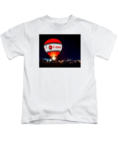 Canon - See Impossible - Hot Air Balloon Kids T-Shirt