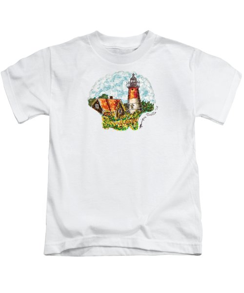 Cape Cod Lighthouse Kids T-Shirt
