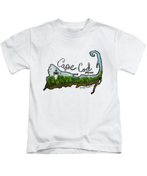 Cape Cod, Mass. Kids T-Shirt