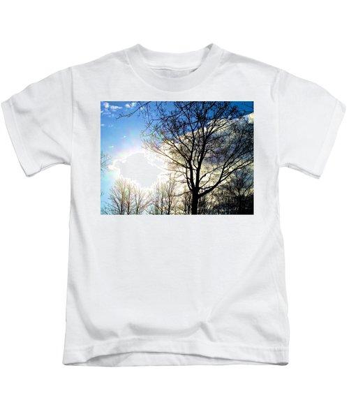 Capturing The Morning Sun Kids T-Shirt