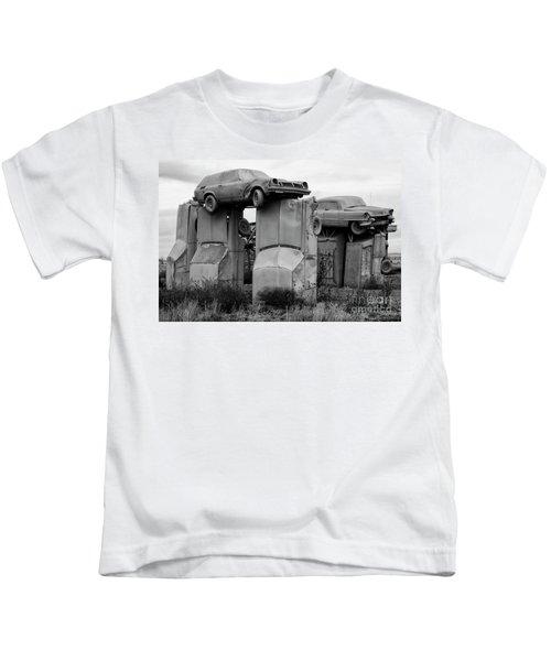 Carhenge Nebraska 19 Kids T-Shirt