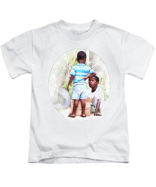 Caribbean Kids Illustration Kids T-Shirt