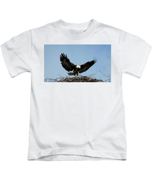 Cape Vincent Eagle Kids T-Shirt