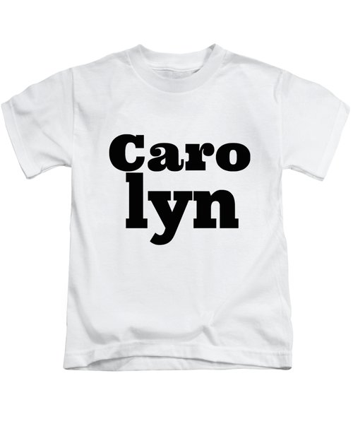 Carolyn Kids T-Shirt