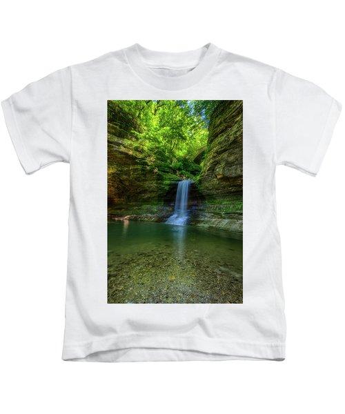 Cascade Falls Kids T-Shirt