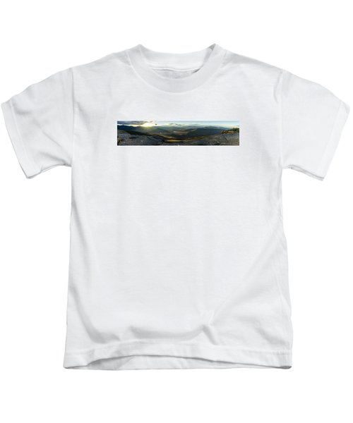 Cascade Mountain Sunset Kids T-Shirt
