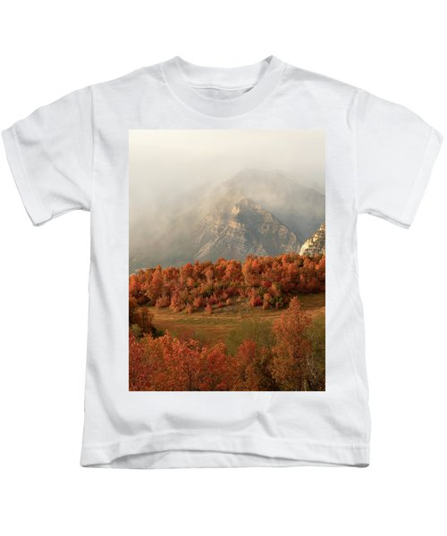 Cascading Fall Kids T-Shirt