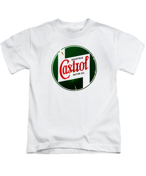 Castrol Motor Oil Kids T-Shirt