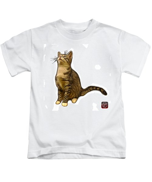 Cat Art - 3771 Wb Kids T-Shirt
